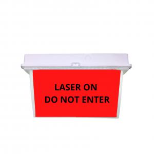 LASER ON DO NOT ENTER