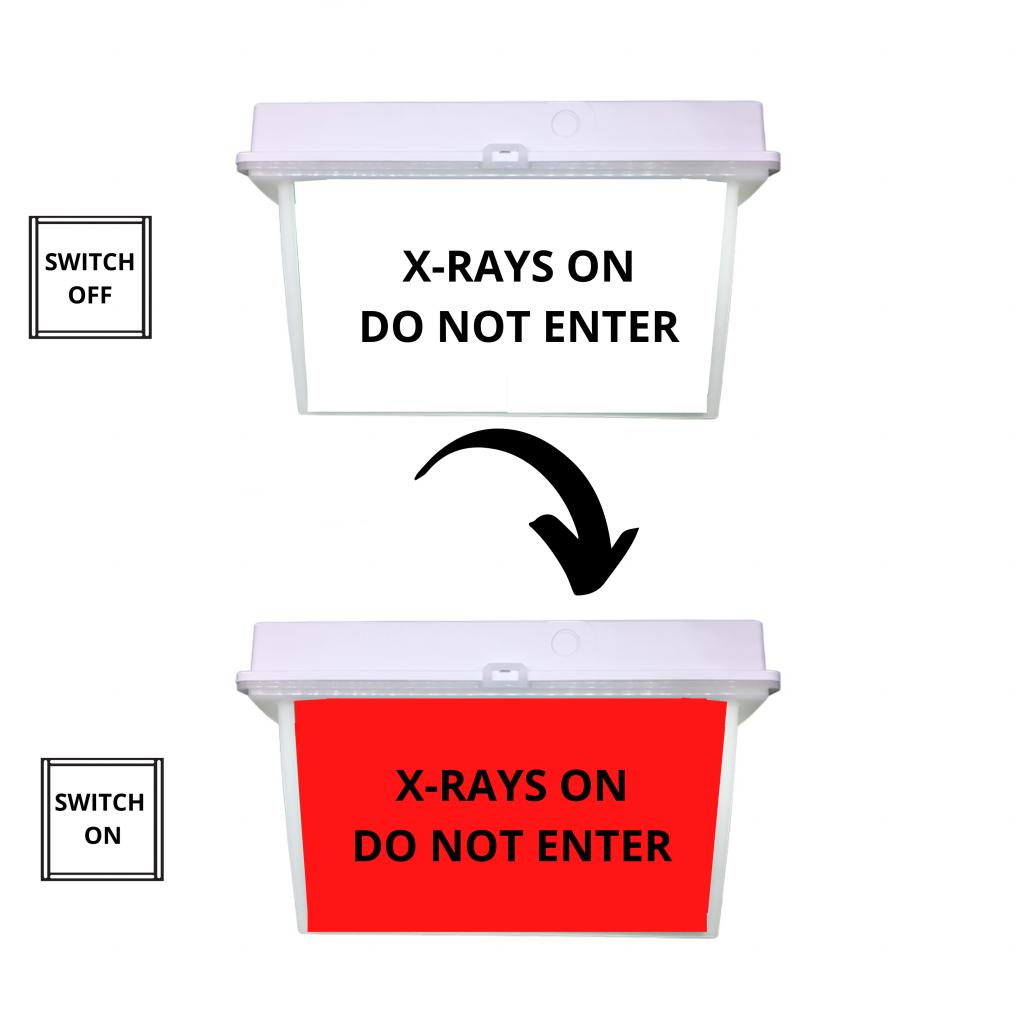 XRAYS ON DO NOT ENTER